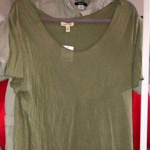 NWT Green Silence + Noise T-Shirt